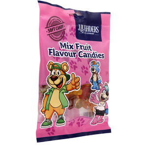 J.Luehders Mix Fruit Flavor Candies 30x150g