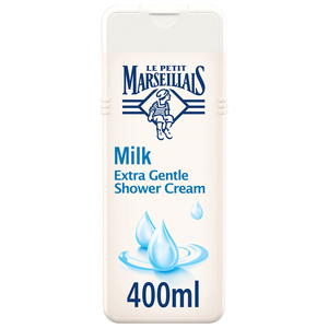 Le Petit Marseillais Body Wash Milk Extra Gentle Shower Cream 400ml