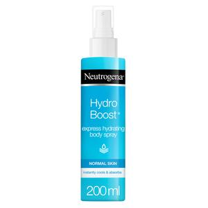 Neutrogena Body Spray Hydro Boost Express Hydrating Normal Skin 200ml