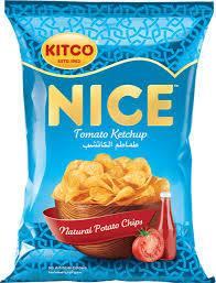 Kitco Nice Chips Tomato Ketchup 14g
