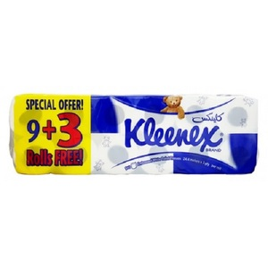 Kleenex Bathroom Tissue 9+3rolls