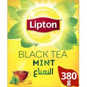 Lipton Flavoured Black Loose Tea Mint 380g