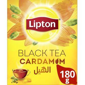Lipton Flavoured Black Loose Tea Cardamom 180g