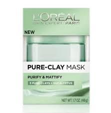L'Oreal Clay Mask Green 50ml