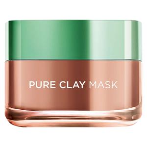 L'Oreal Pure Clay Mask And Exfoliator Brightness 50ml