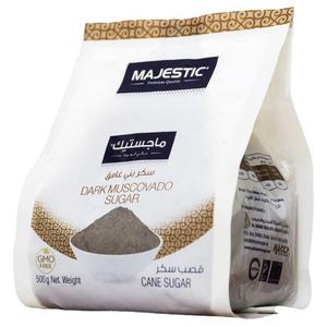 Majestic Dark Muscovado Sugar 500g