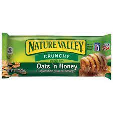Nature Valley Crunchy Granola Bars Oats And Honey 21g