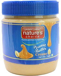 Nature's Choice Peanut Butter Creamy 340g