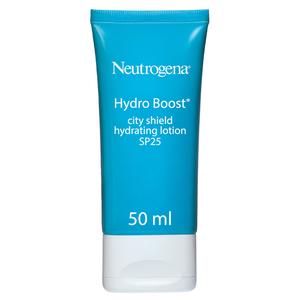 Neutrogena Face Moisturizer Hydro Boost City Shield SPF 25 50ml
