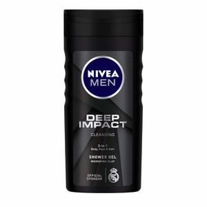 Nivea Men Deep Shower Gel Micro-Fine Clay Woody Scent 250ml
