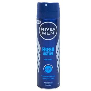 Nivea Fresh Ocean Deodorant Aqua Scent Spray For Men 150ml