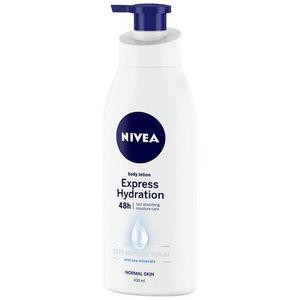 Nivea Aloe & Hydration Body Lotion With Aloe Vera Normal To Dry Skin 400ml