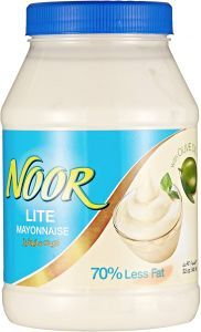Noor Lite Mayonnaise with Olive Oil 946ml