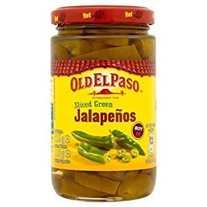 Old El Paso Sliced Hot & Tangy 215g