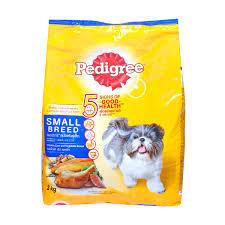 Pedigree Chicken Liver and Vegetables Flavor & Small Breed Dog Food 3kg