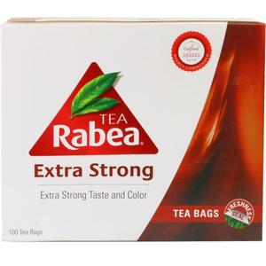 Rabea Extra Strong Tea Bag 100x2g