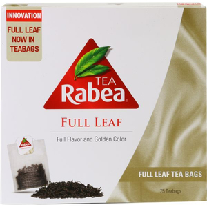 Rabea Full Leaf Tea Bag 75x2.5g