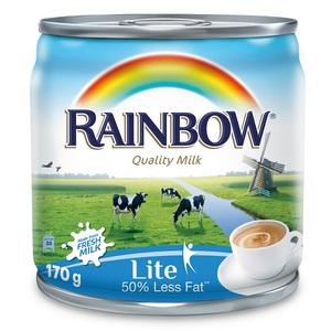 Rainbow Lite Evaporated Milk 170g