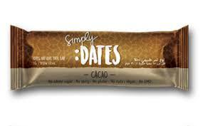 Simply Dates Dates Bar Cacao 30g