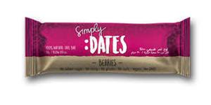 Simply Dates Dates Bar Berries 30g