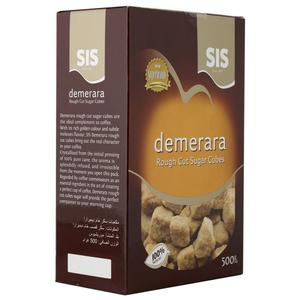 Sis Demerara Rough Cut Cubes Sugar 12x500g