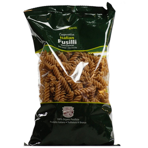 Suma Organic Whole Wheat Fusilli 500g
