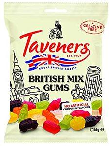Taveners British Mix Jelly 165g