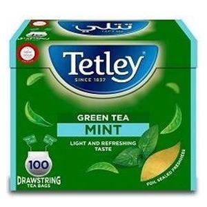 Tetley Ds Green Mint 100x1.5.g