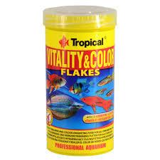 Tropical Fish Food Vitality & Color Flakes 250ml