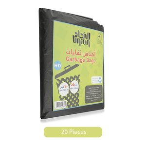 Union Hd Garbage Bags 20pc
