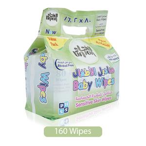 Union Sensitive Skin Baby Wipes 160s