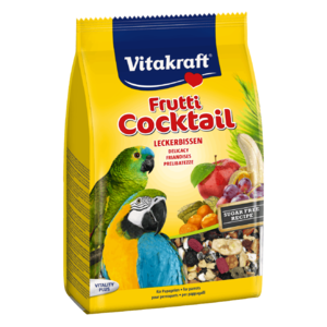 Vitakraft Cocktail Mixed Fruit And Small Parrot Bird Cage Treat 6pc