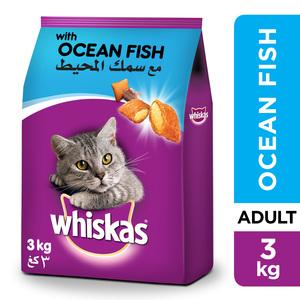Whiskas Ocean Fish Dry Food Adult 1+ Years 3kg