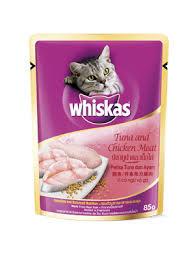 Whiskas Chicken & Tuna Cat Food 85g