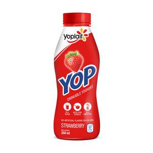 Yoplait Yop Strawberry Drink 1x250ml