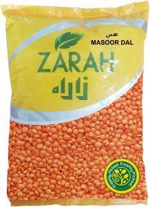 Zarah Organic Masoor Dal 1kg