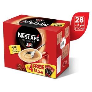 Nescafe 3 In 1 Classic Multi Pack 28s