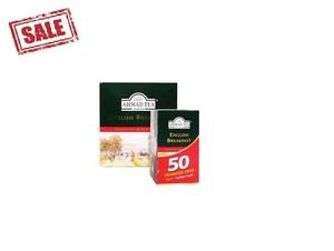 Ahmad Tea English Breakfast Tea 100s+50s