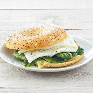 Egg White Breakfast Bagel 1 serving