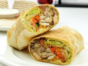 Shish Taouk Sandwich 1 serving