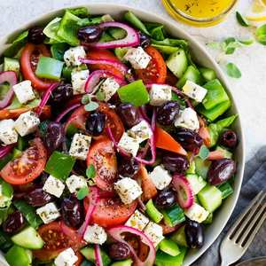 Greek Salad 1 serving