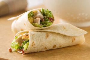 Chicken Caesar Wrap 1 serving