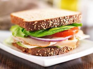 Turkey Cheese Sandwich 250g