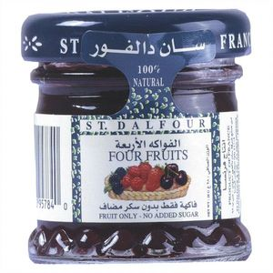 St Dalfour Jam Four Fruit 28g