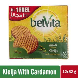 Belvita Biscuit Kleija With Cardamom Special Price 12x62g