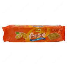 Nabil Cream Biscuit Orange 82g