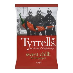 Tyrrells Chips Sweet Chili And Red Pepper 150g