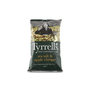 Tyrrells Chips Apple Vinegar And Sea Salt 150g