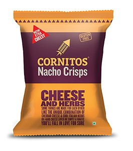 Cornitos Nacho Chips Cheese And Herbs 150g