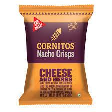 Cornitos Nacho Chips Cheese And Herbs 55g